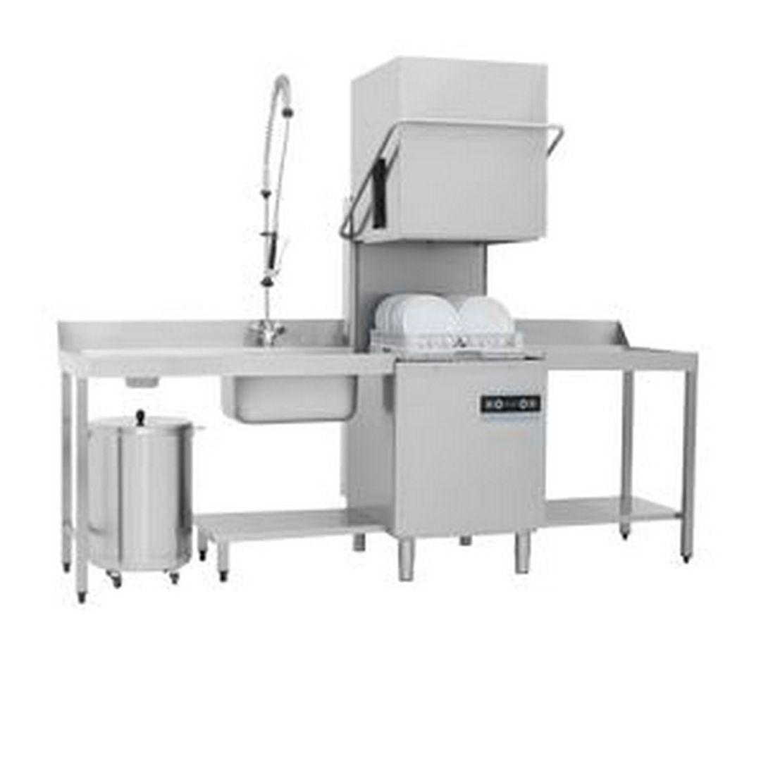 Машина посудомоечная купольная Apach Chef Line LHIT50 RP DD DP