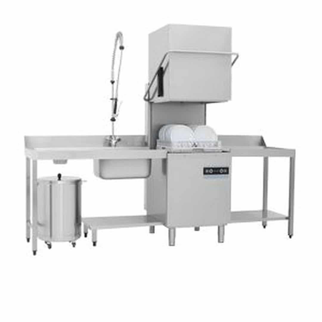Машина посудомоечная купольная Apach Chef Line LHTT50 DD DP PLUS
