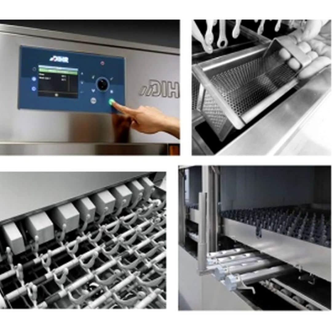 Машина посудомоечная Dihr QX 596 SX+HRF20+DRF69 2 ЧАСТИ