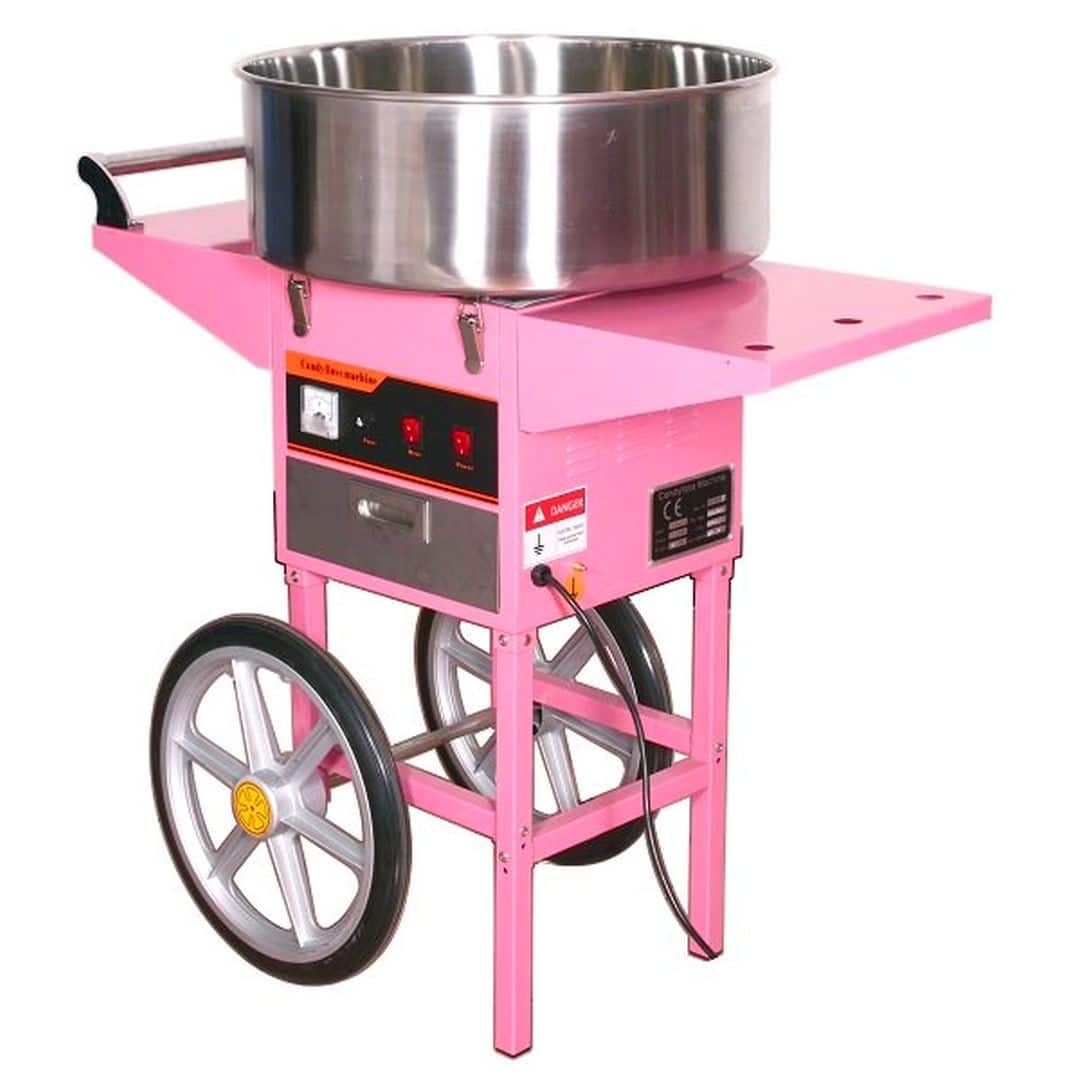Аппарат приготовления сахарной ваты Starfood ET-MF-05 с тележкой (диам.520мм)